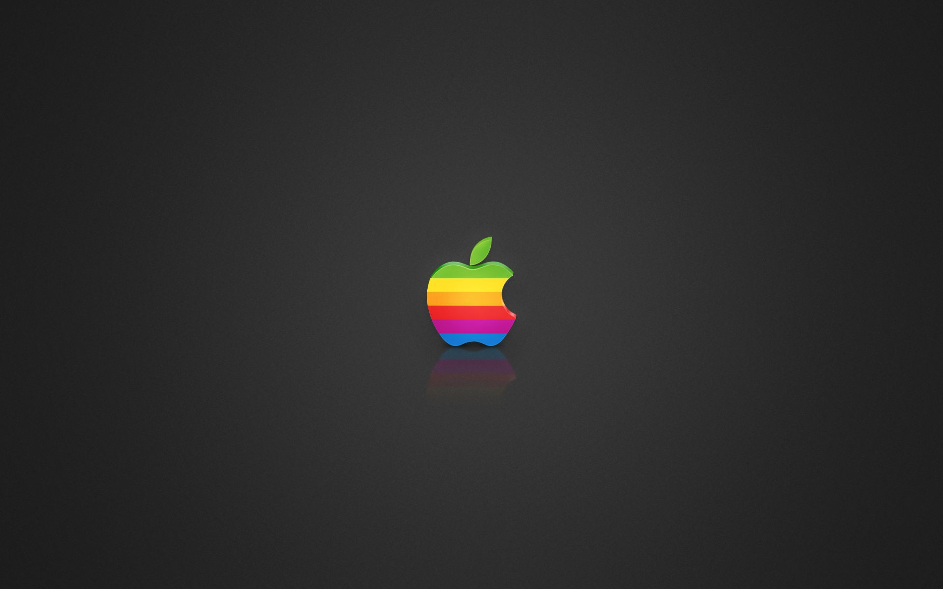 1920x1200 coloured apple logo desktop pc and mac wallpaper