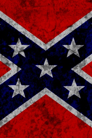 320x480 Confederate Flag, flags