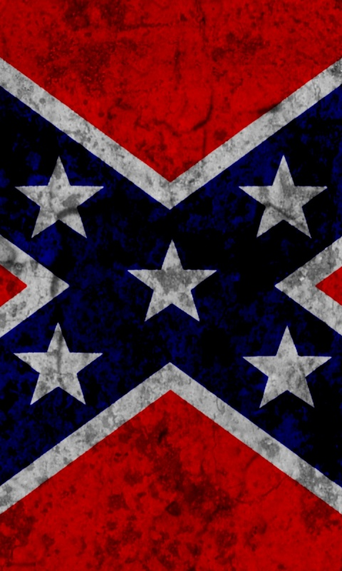 480x800 Confederate Flag, flags