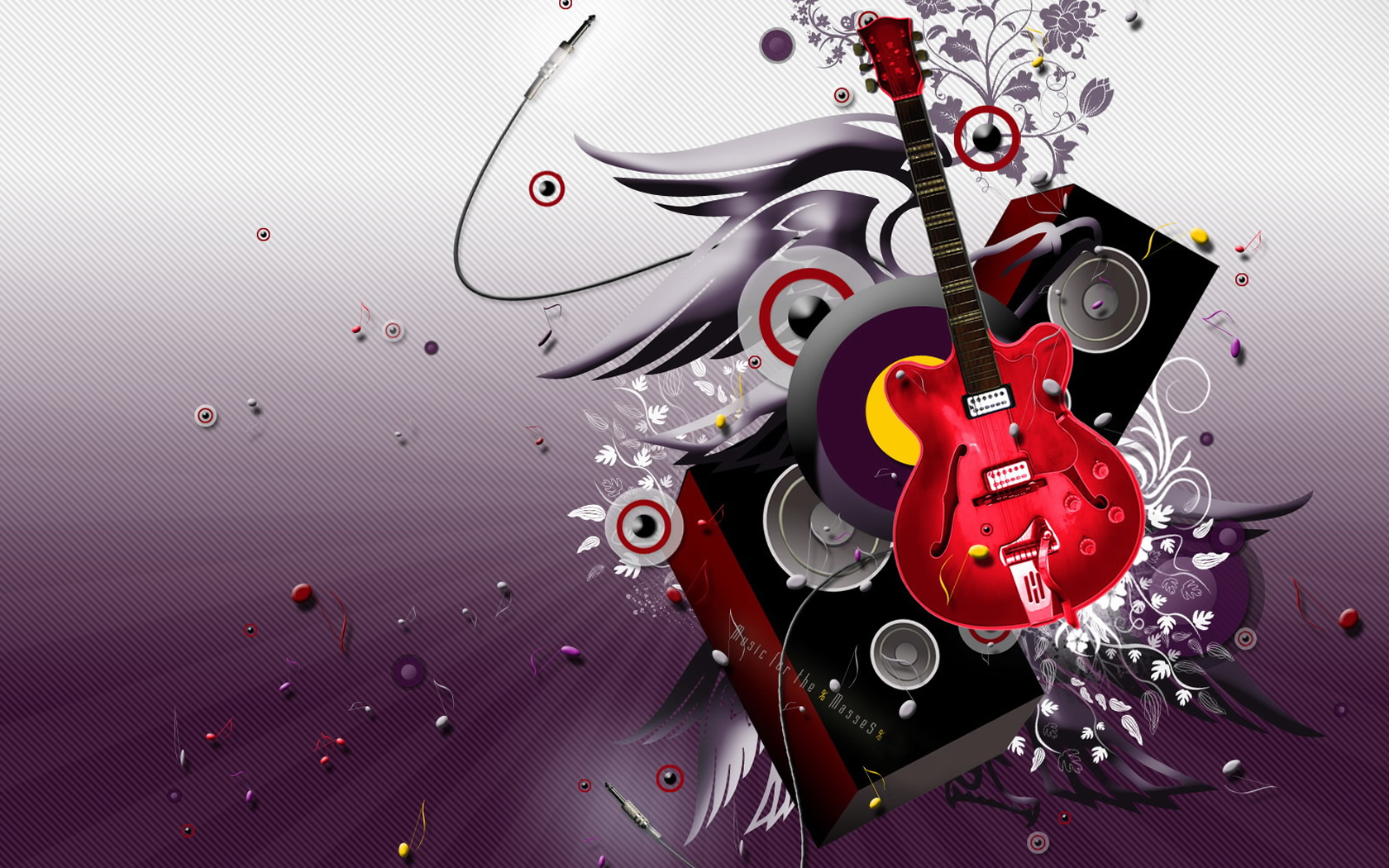 Cool Abstract Dj Music Wallpaper: Cool 3D Abstract Wallpaper Wallpapers