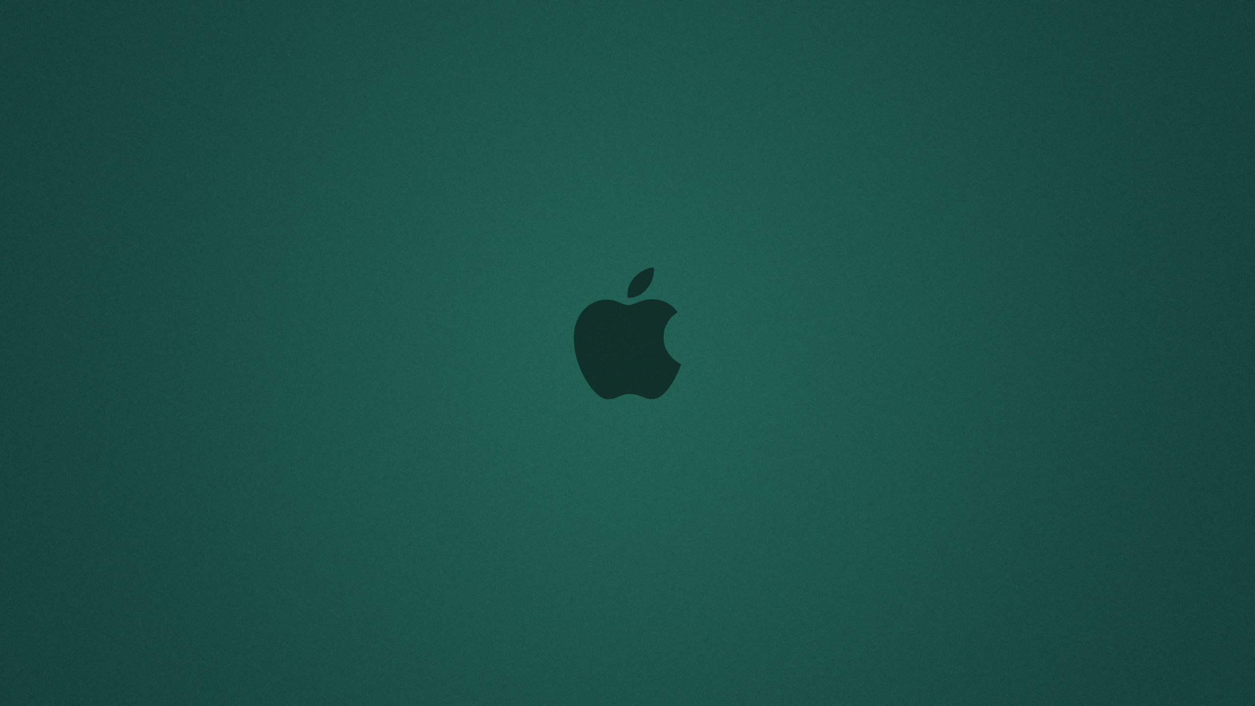 2560x1440 cyan apple background desktop pc and mac wallpaper