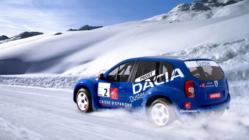 825x315 Dacia Duster Pikes Peak Facebook Cover Photo