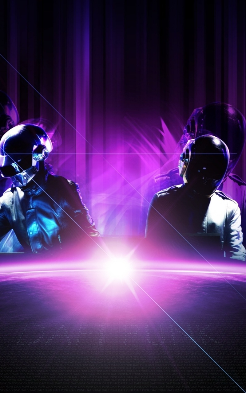 800x1280 Daft Punk Nexus 7 Wallpaper