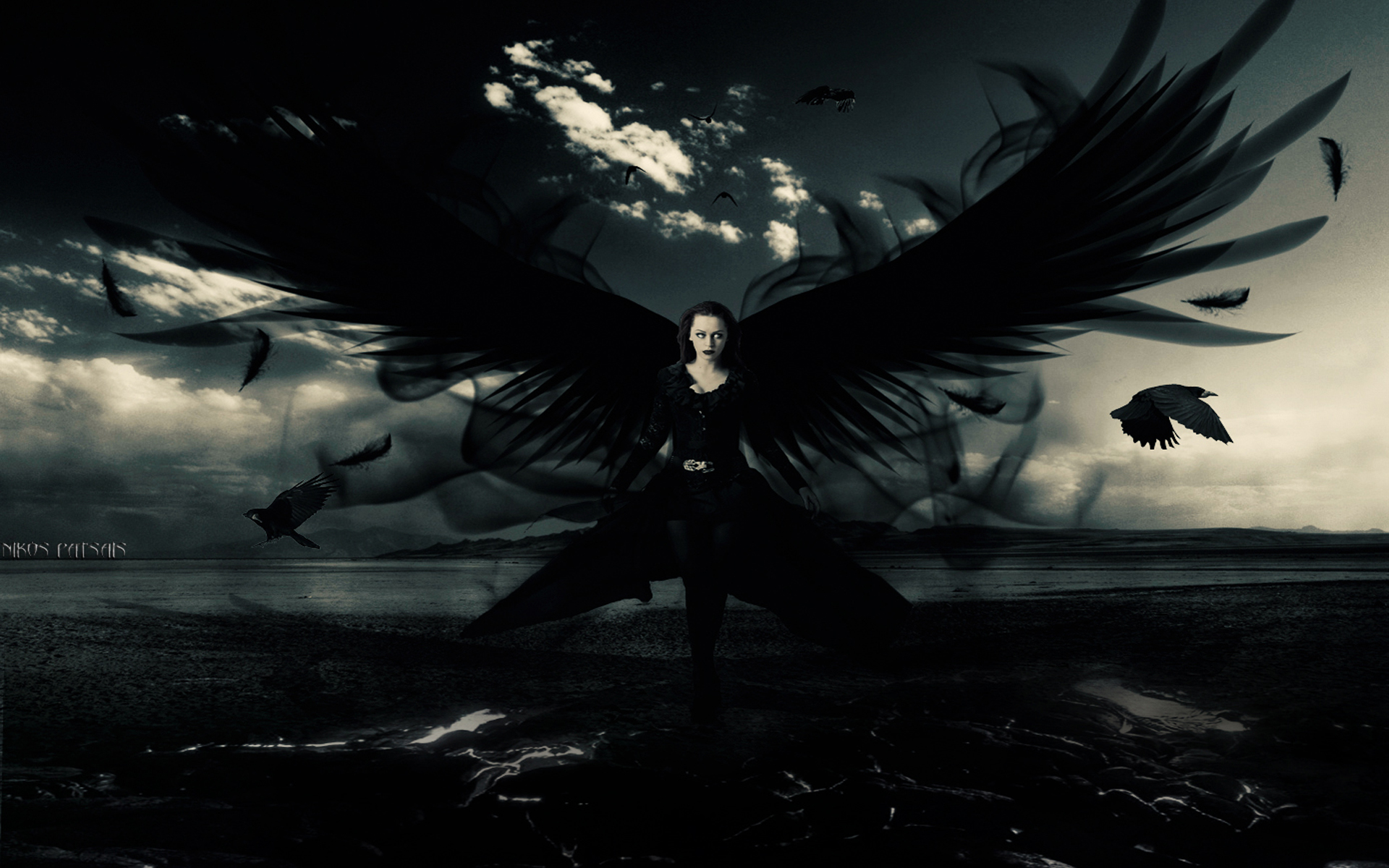 Dark angel wallpapers | Dark angel stock photos