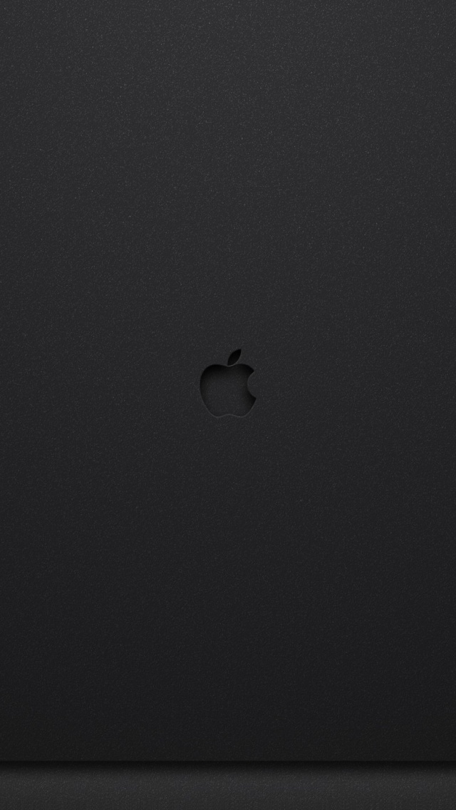 640x1136 Dark Apple Background Iphone 5 Wallpaper