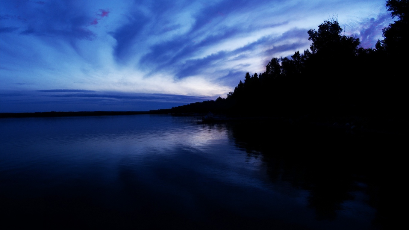 1366x768 blue green dark - photo #7