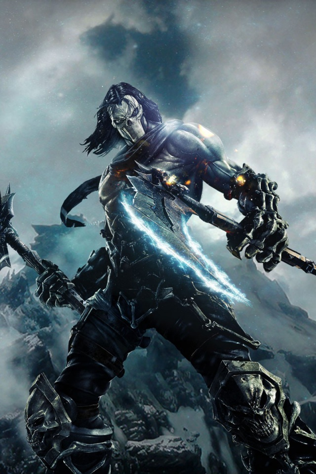 640x960 Darksiders 2 Character Desktop Pc And Mac Wallpaper