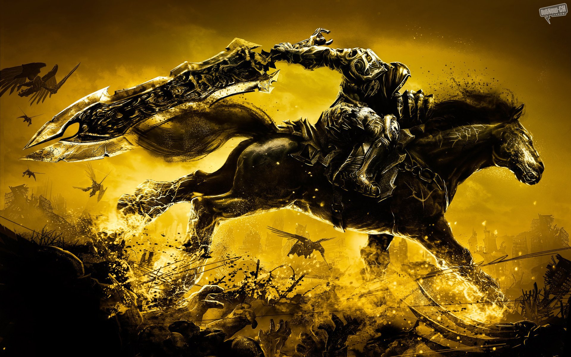 Darksiders wallpapers darksiders stock photos - Best war wallpapers hd ...