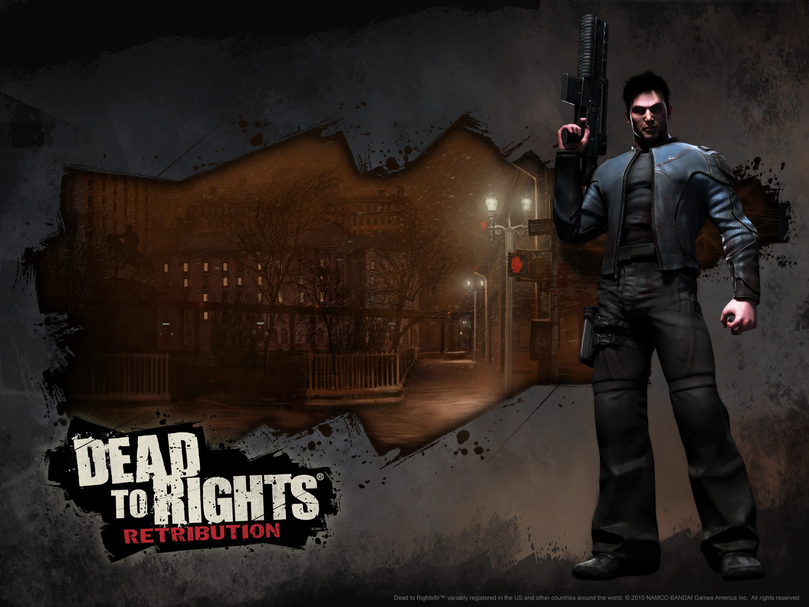 1600x1200 Dead to Rights desktop PC and Mac wallpaper