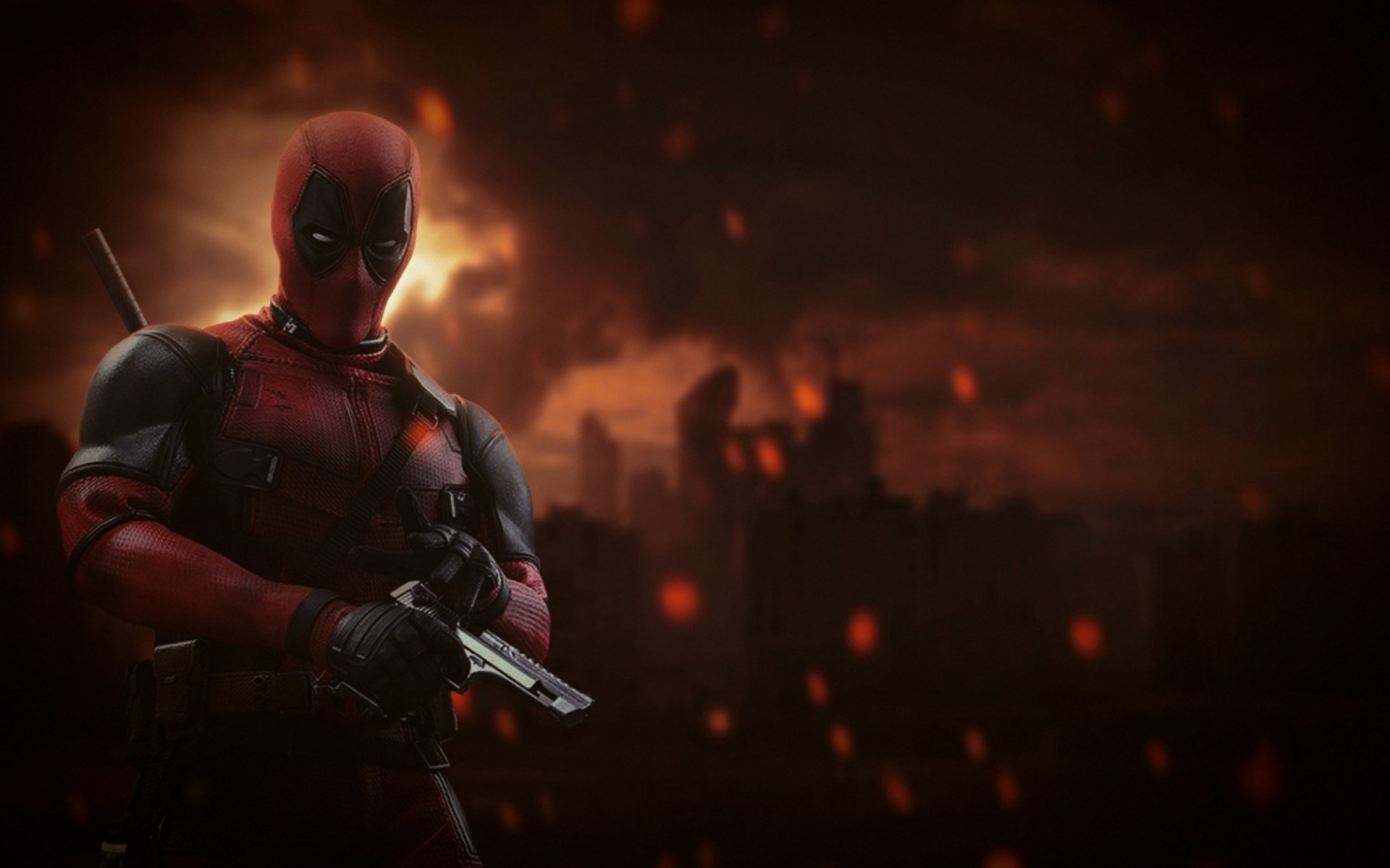 1920x1200 Deadpool Marvel Comics Desktop Pc And Mac Wallpaper