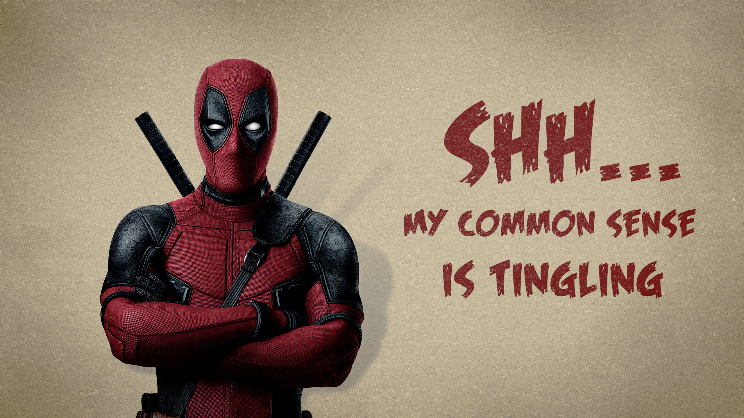 2560x1440 Deadpool YouTube Channel Cover