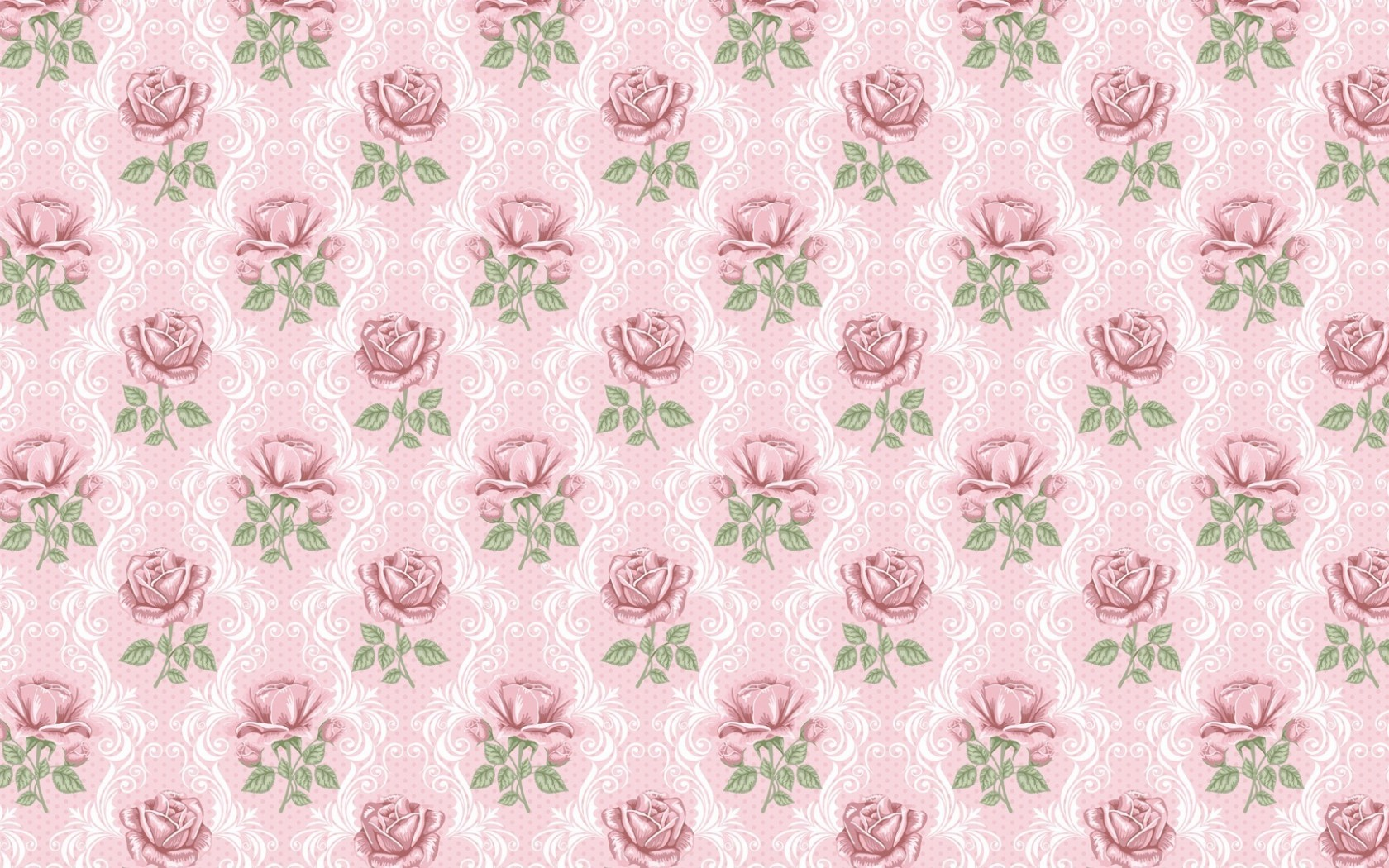 Image Delicate Pink Roses Pattern Wallpapers And Stock Photos
