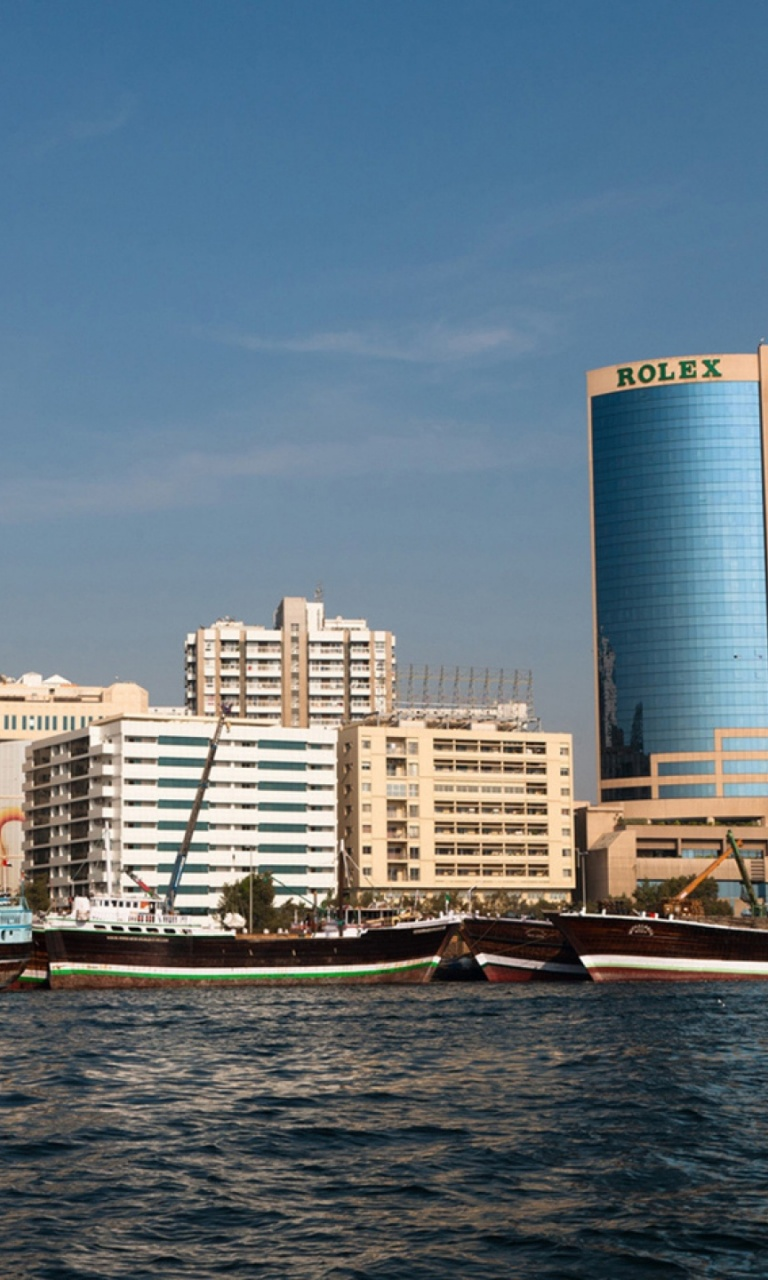 768x1280 dera duabi uae rolex building lumia 920 wallpaper for Home wallpaper uae