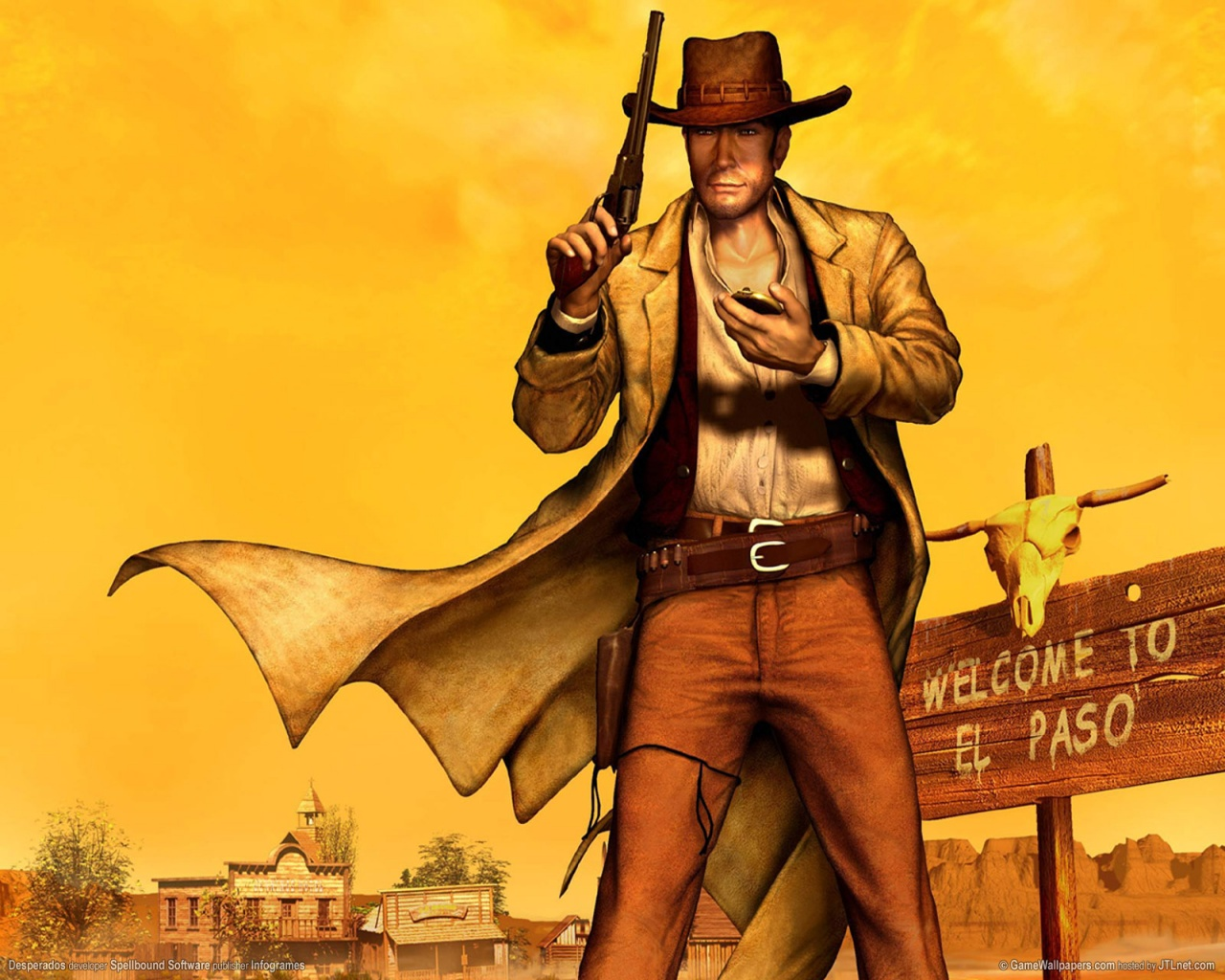 1280x1024 Desperados desktop PC and Mac wallpaper