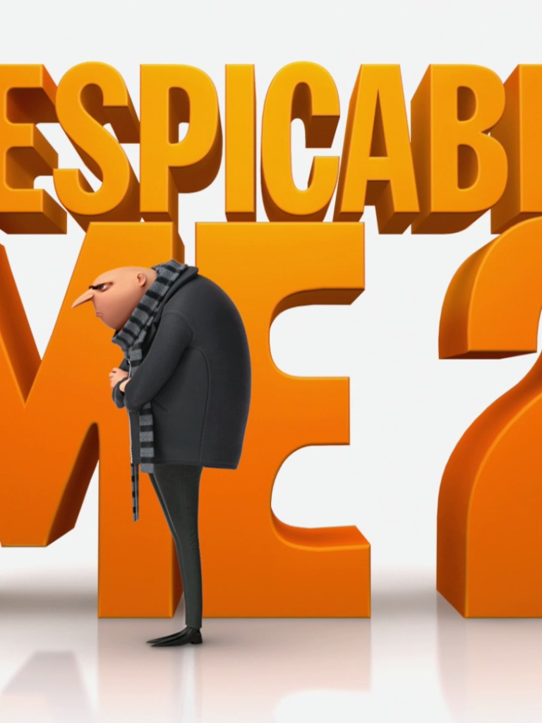 768x1024 Despicable Me 2 Ipad Wallpaper