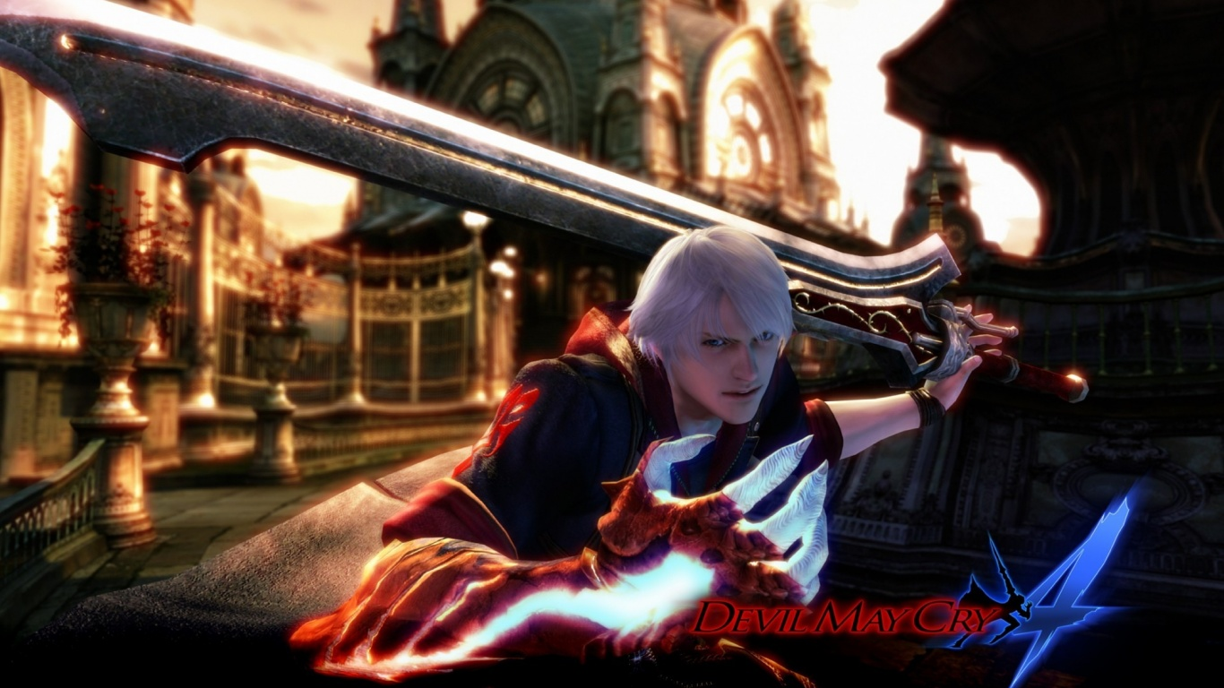 1366x768 Devil May Cry 4 Desktop Pc And Mac Wallpaper