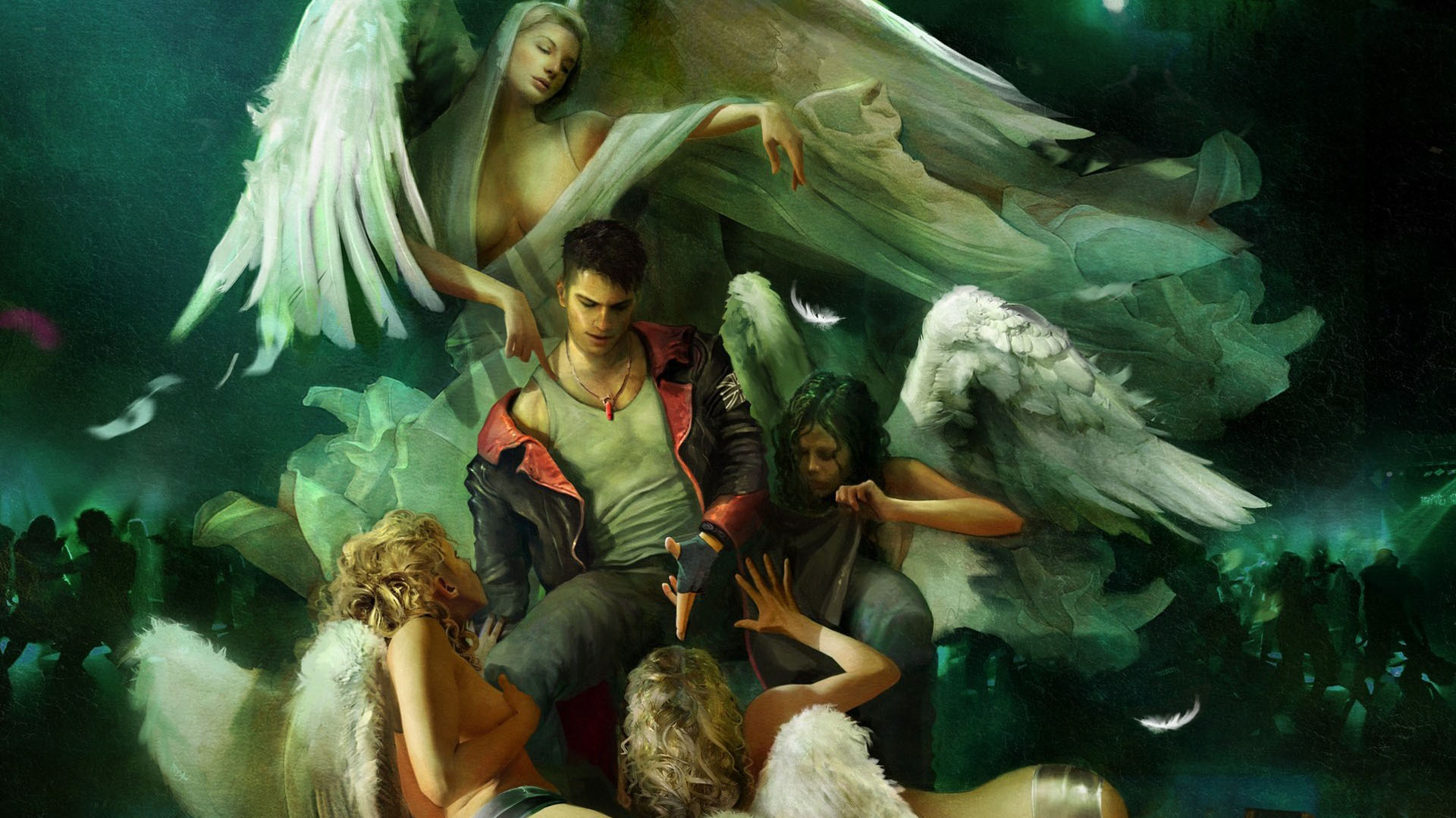 Devil May Cry 5 Green Wallpapers Devil May Cry 5 Green Stock Photos