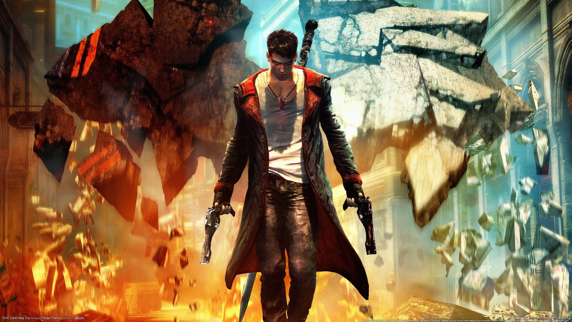 Devil May Cry 5 Orange Wallpapers Devil May Cry 5 Orange Stock