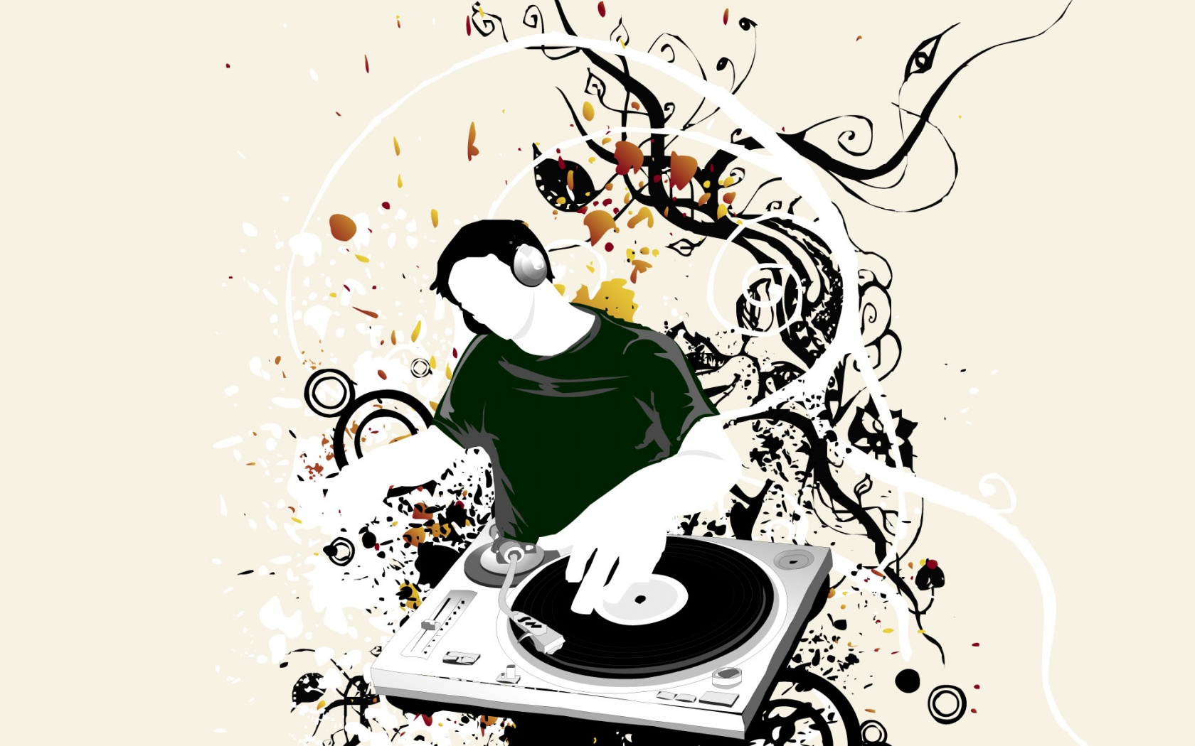 1680x1050 DJ Vector desktop wallpapers and stock photos