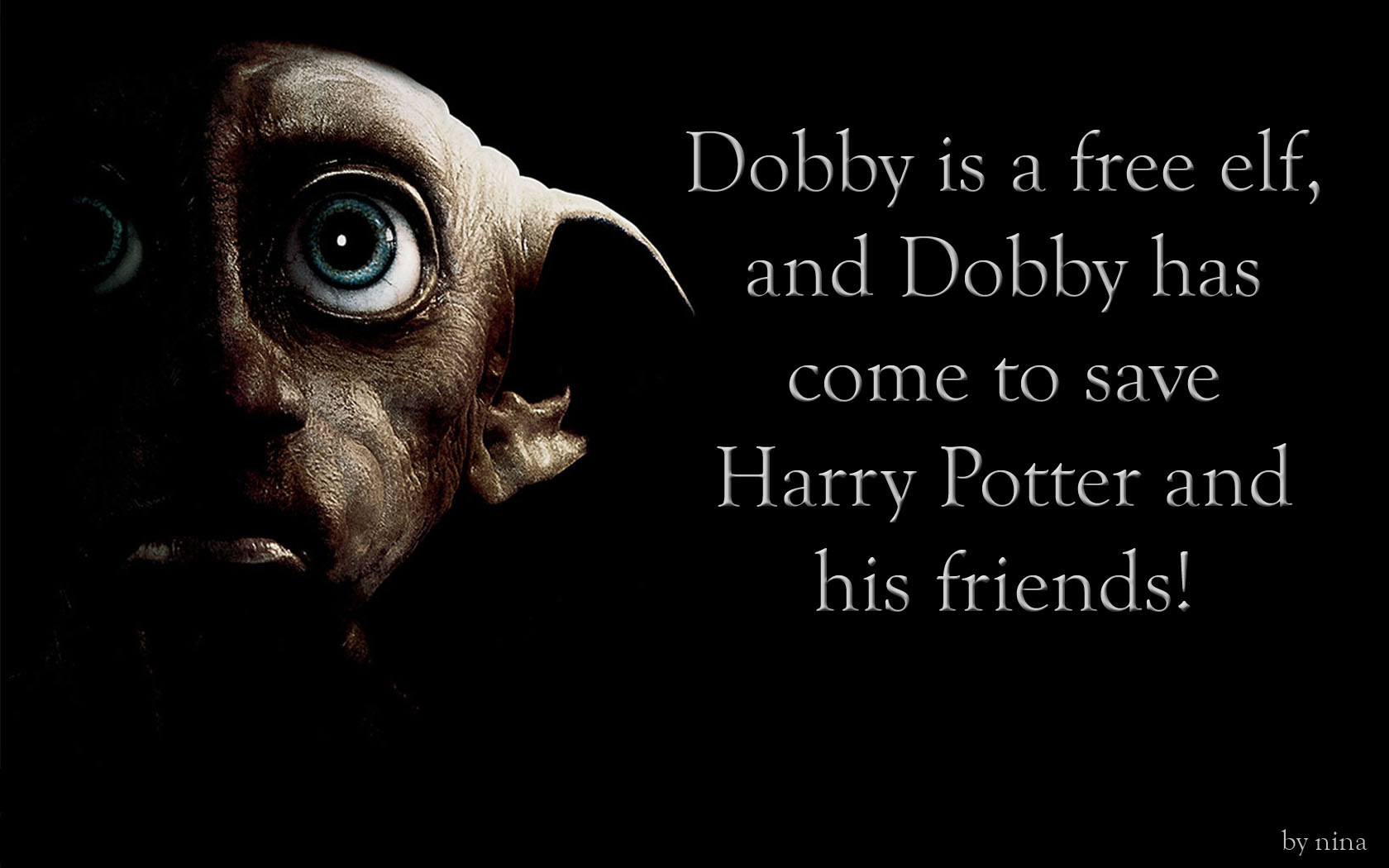 1680x1050 Dobby, A Free Elf desktop PC and Mac wallpaper