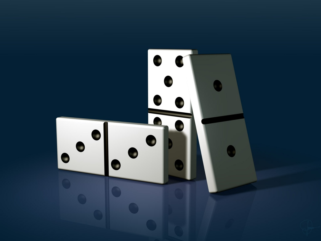 1024x768 domino pieces desktop pc and mac wallpaper for Piece de theatre domino