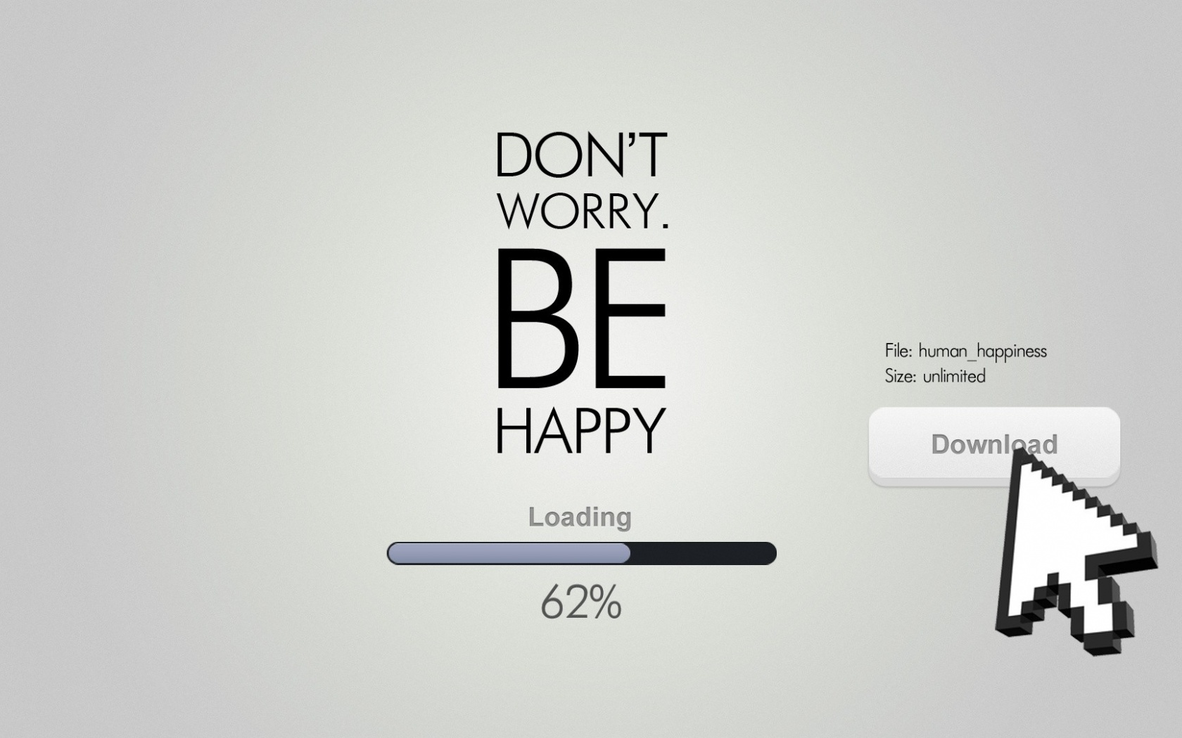 1500x500 Don T Worry Be Happy Quote Twitter Header Photo