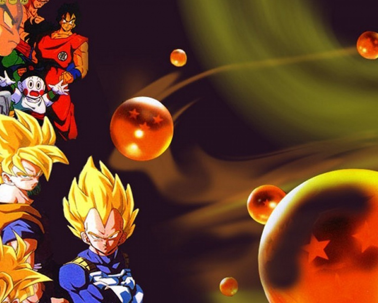 1280x1024 Dragon Ball Desktop Pc And Mac Wallpaper