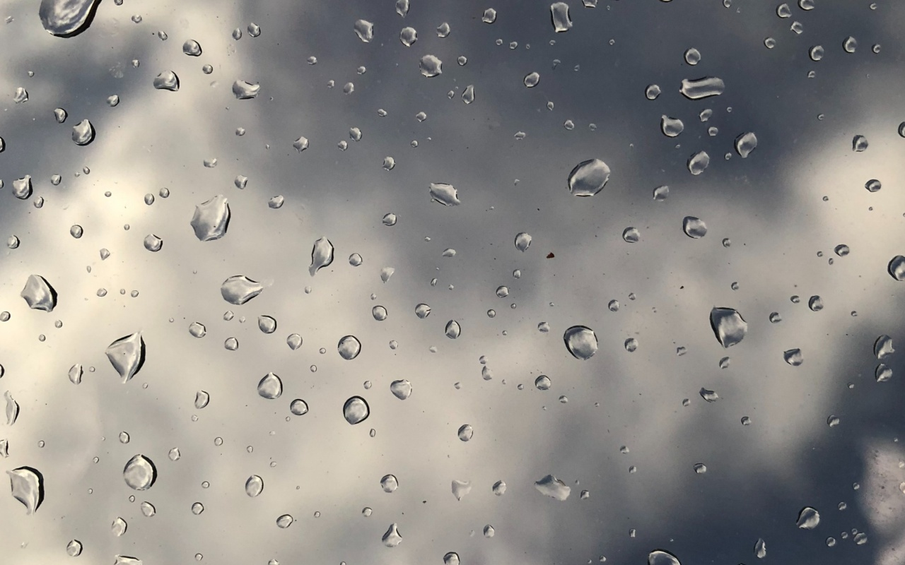 1280x800 drops, surface, glass