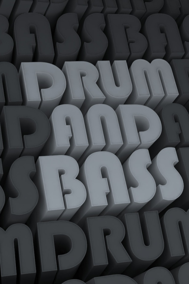 640x960 Drum Bass Iphone 4 Wallpaper