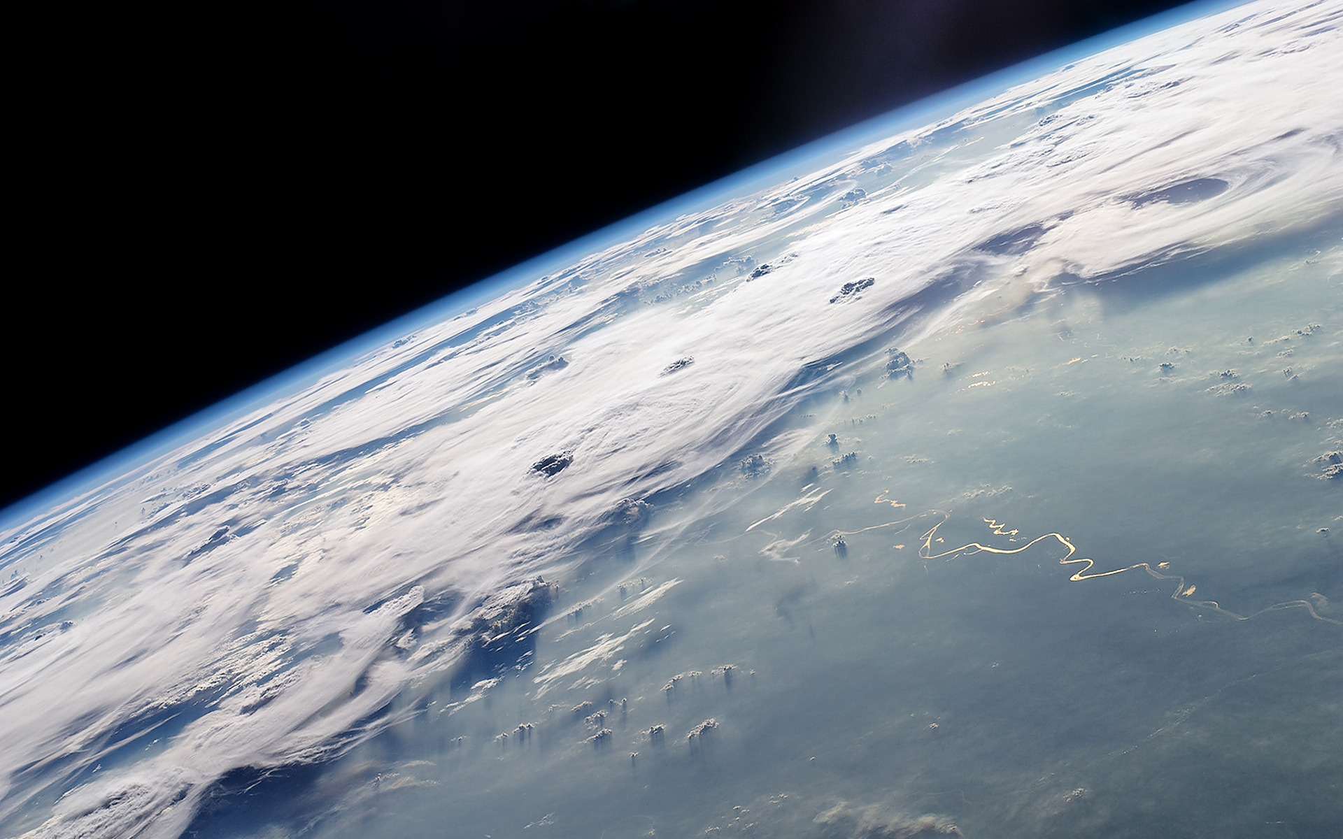 Earth From Space Wallpaper wallpaper.