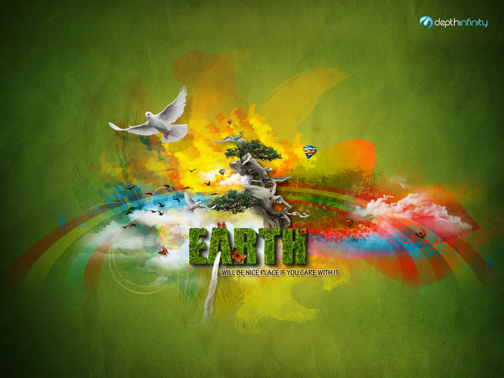 1024x768 Earth Wallpaper
