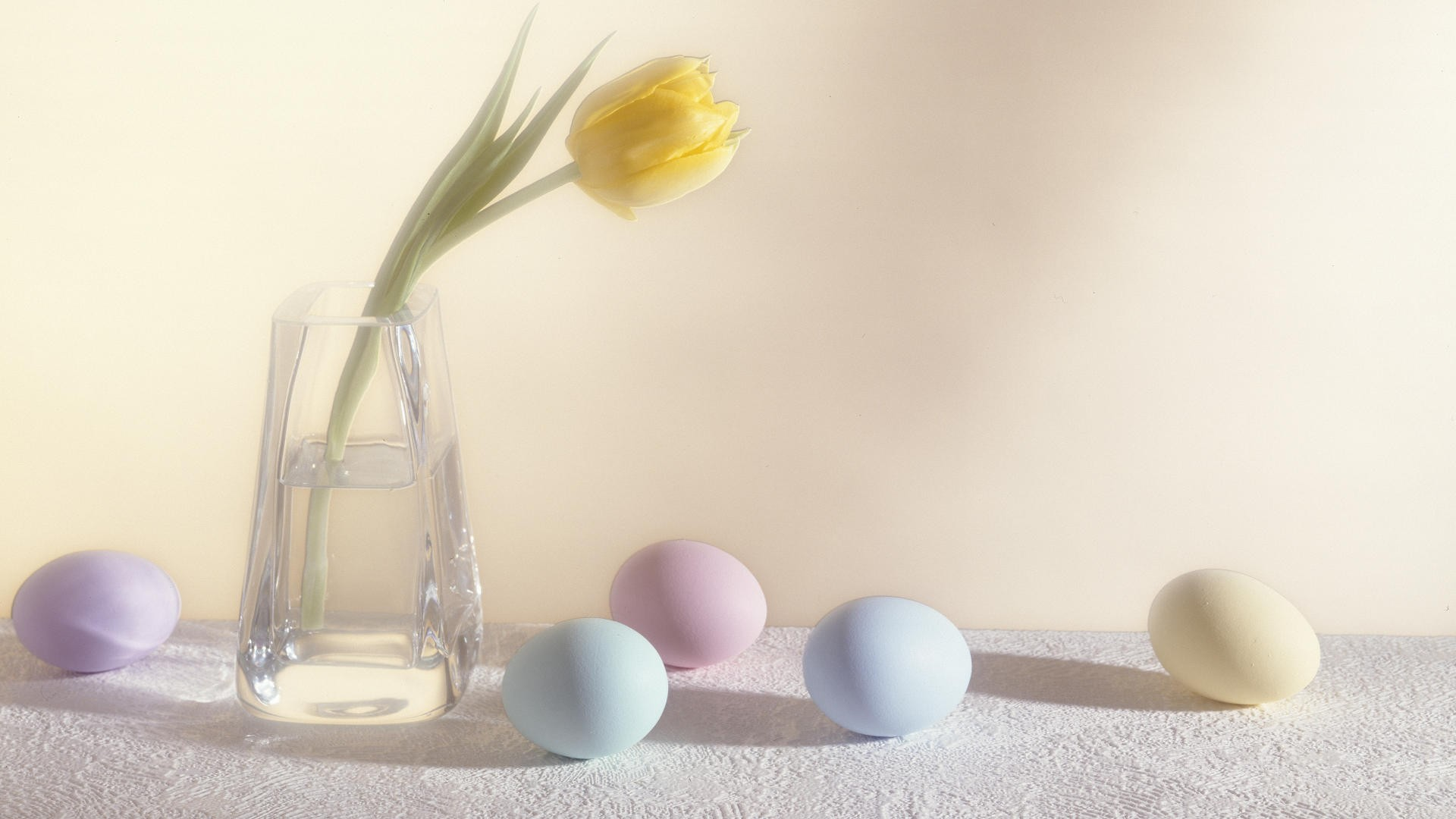 1920x1080 Easter Eggs And Flower Desktop Pc And Mac Wallpaper