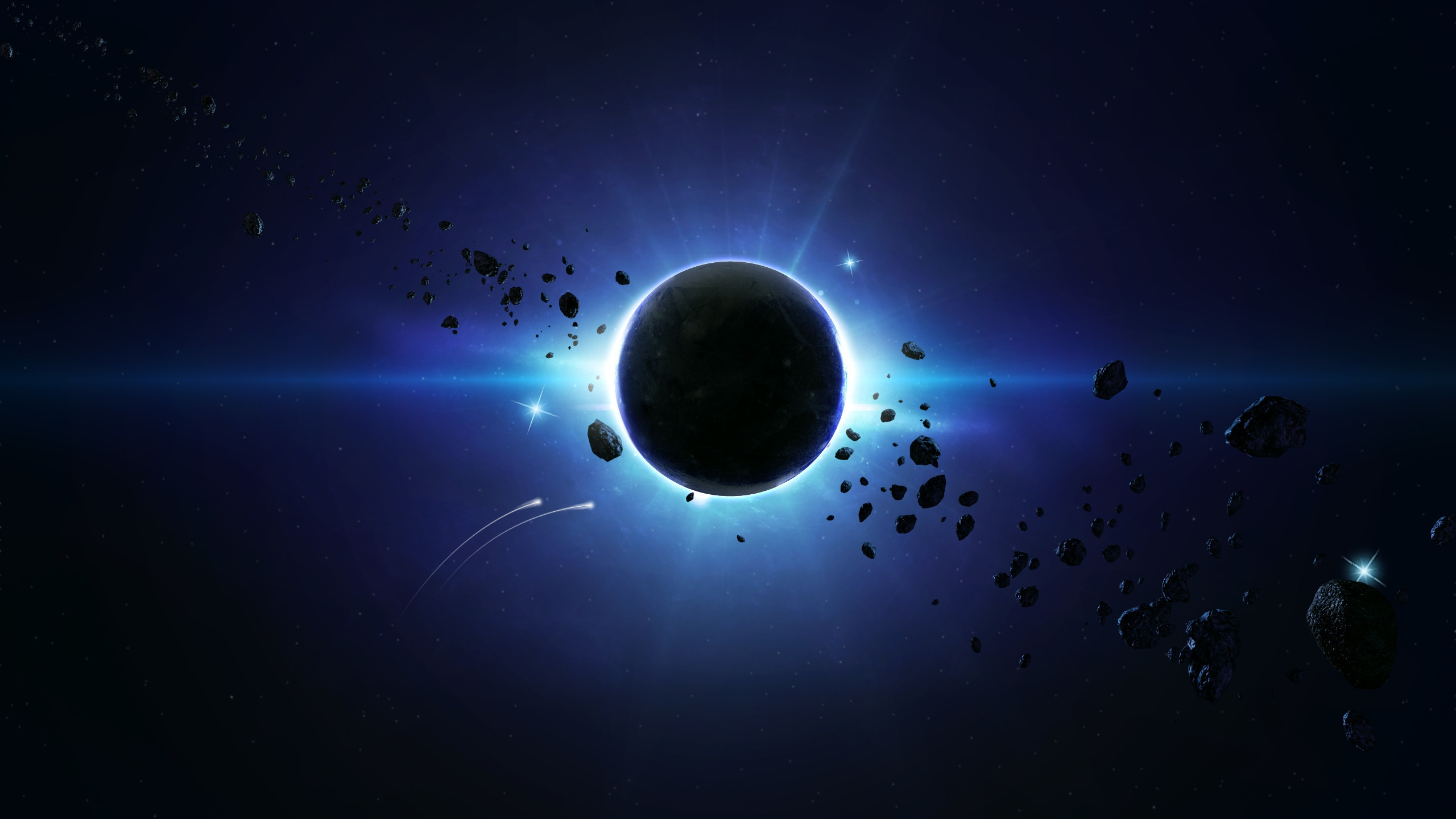 2560x1440 Eclipse Desktop PC And Mac Wallpaper