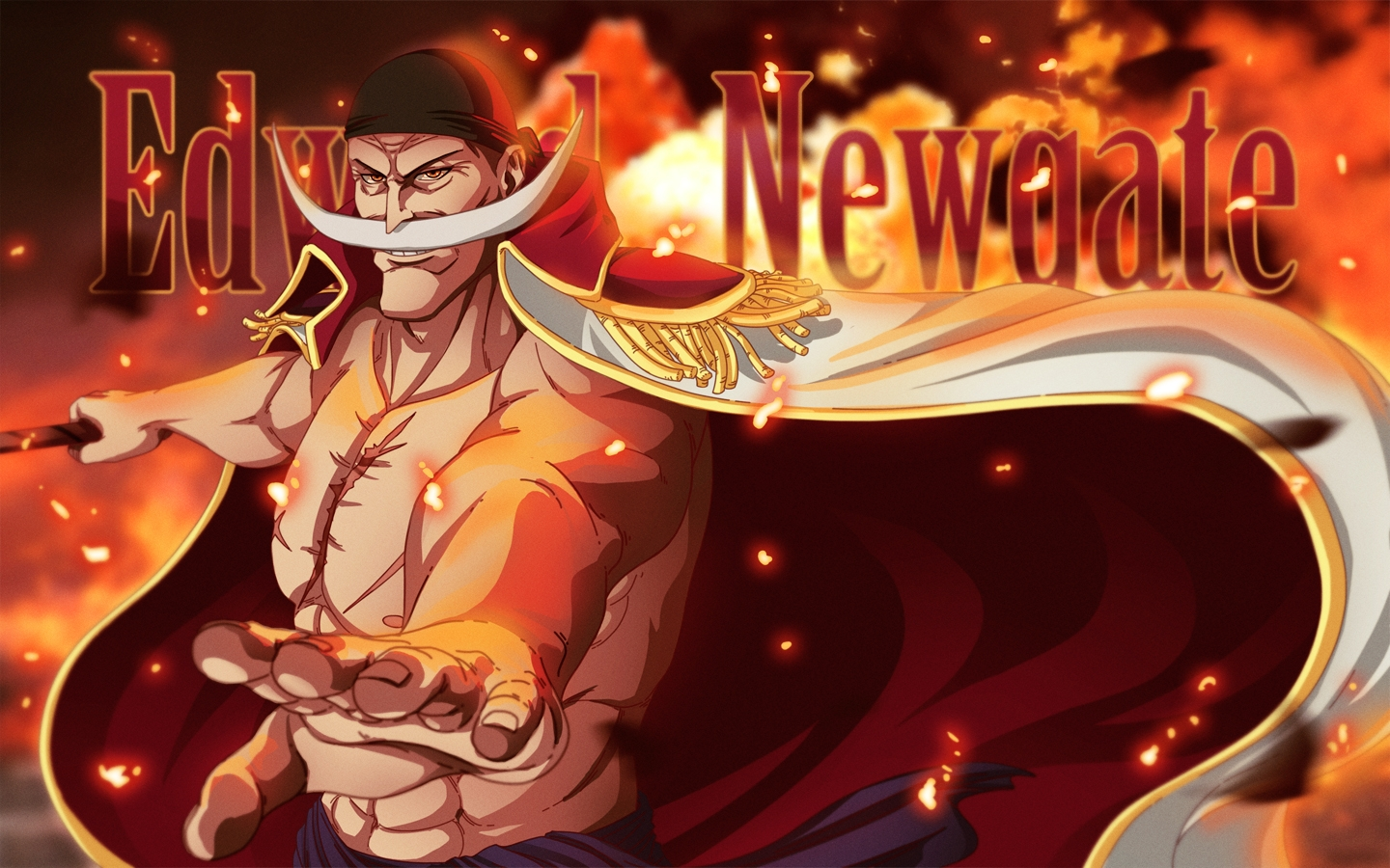 Edward Newgate Whitebeard wallpapers | Edward Newgate ...