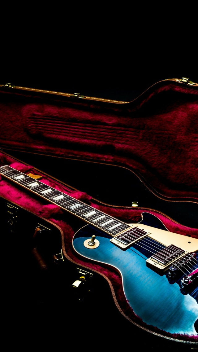 640x1136 Electric Guitar Iphone 5 Wallpaper