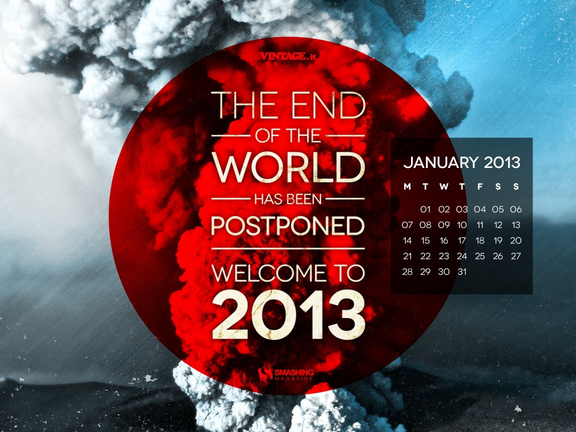 1152x864 End Of The World Postponed
