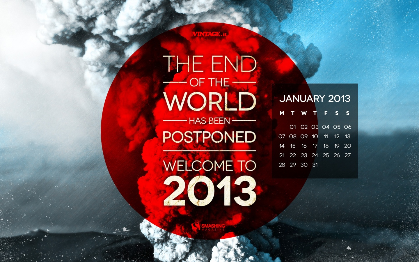 1440x900 End Of The World Postponed