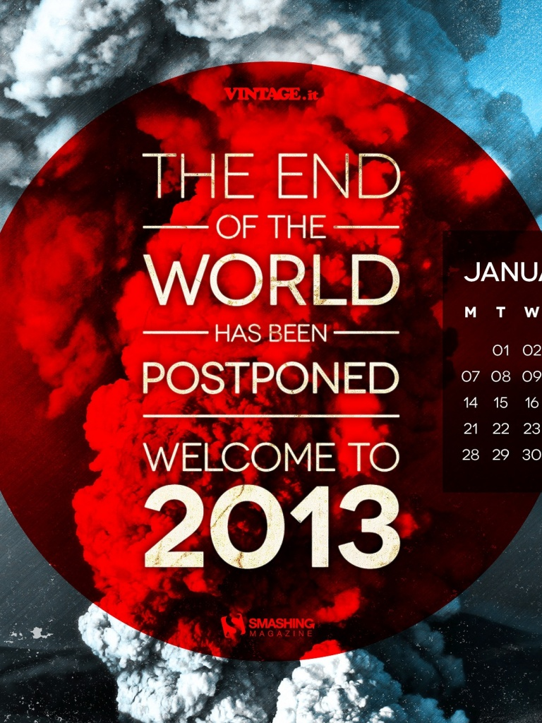 768x1024 End Of The World Postponed