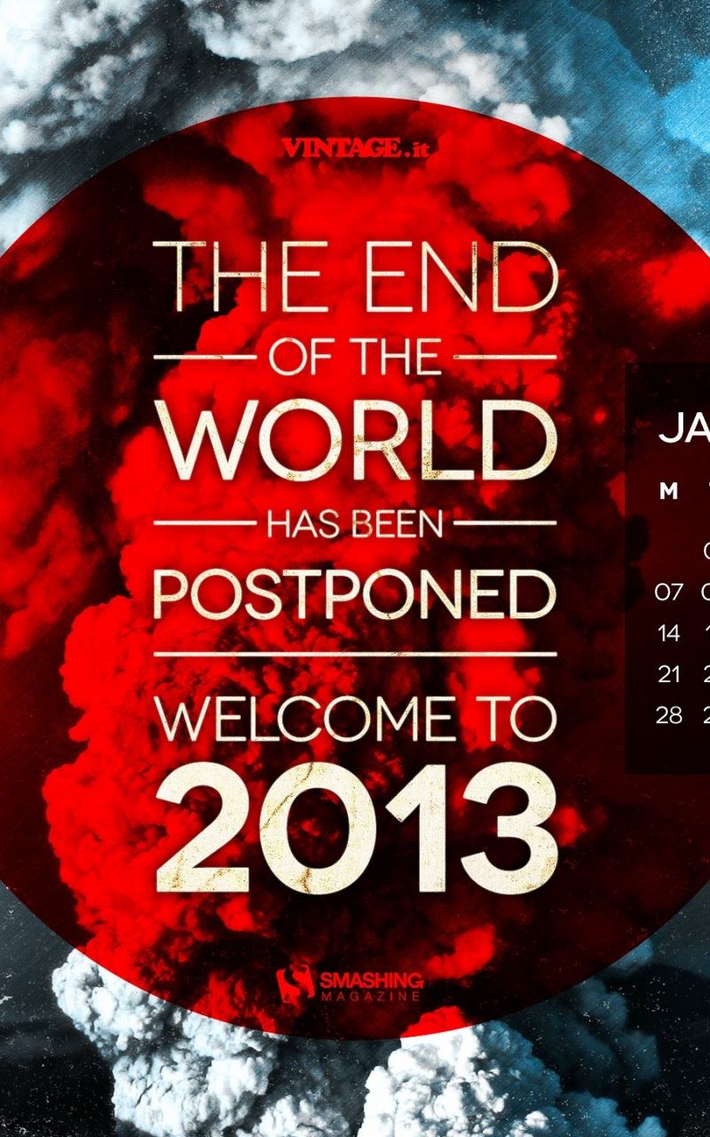 800x1280 End Of The World Postponed
