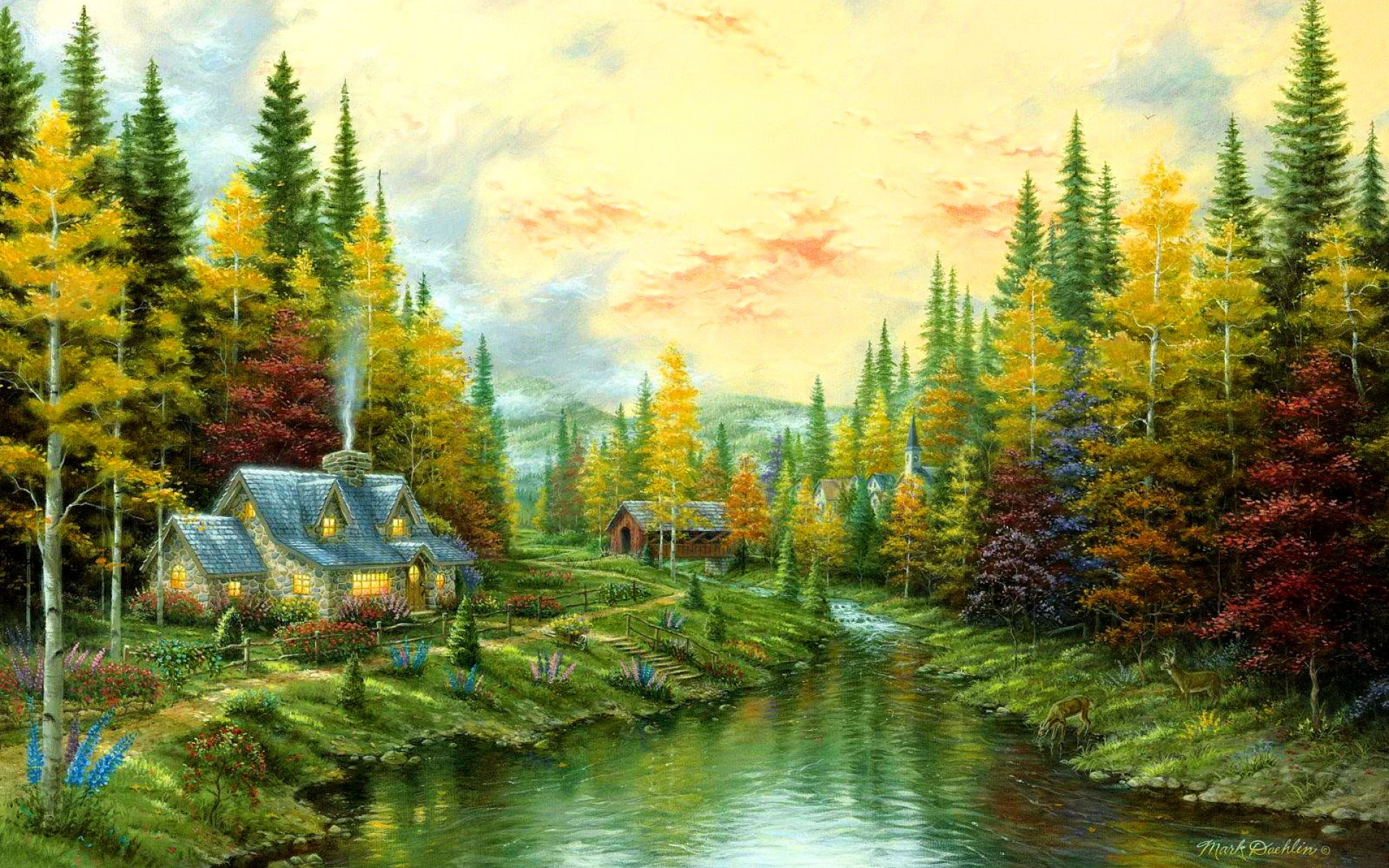 indian nature painting wallpaper wwwimgkidcom the