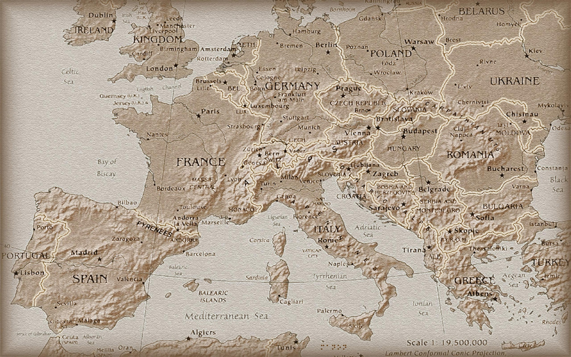 1920x1200 europe old map desktop pc and mac wallpaper gumiabroncs Image collections