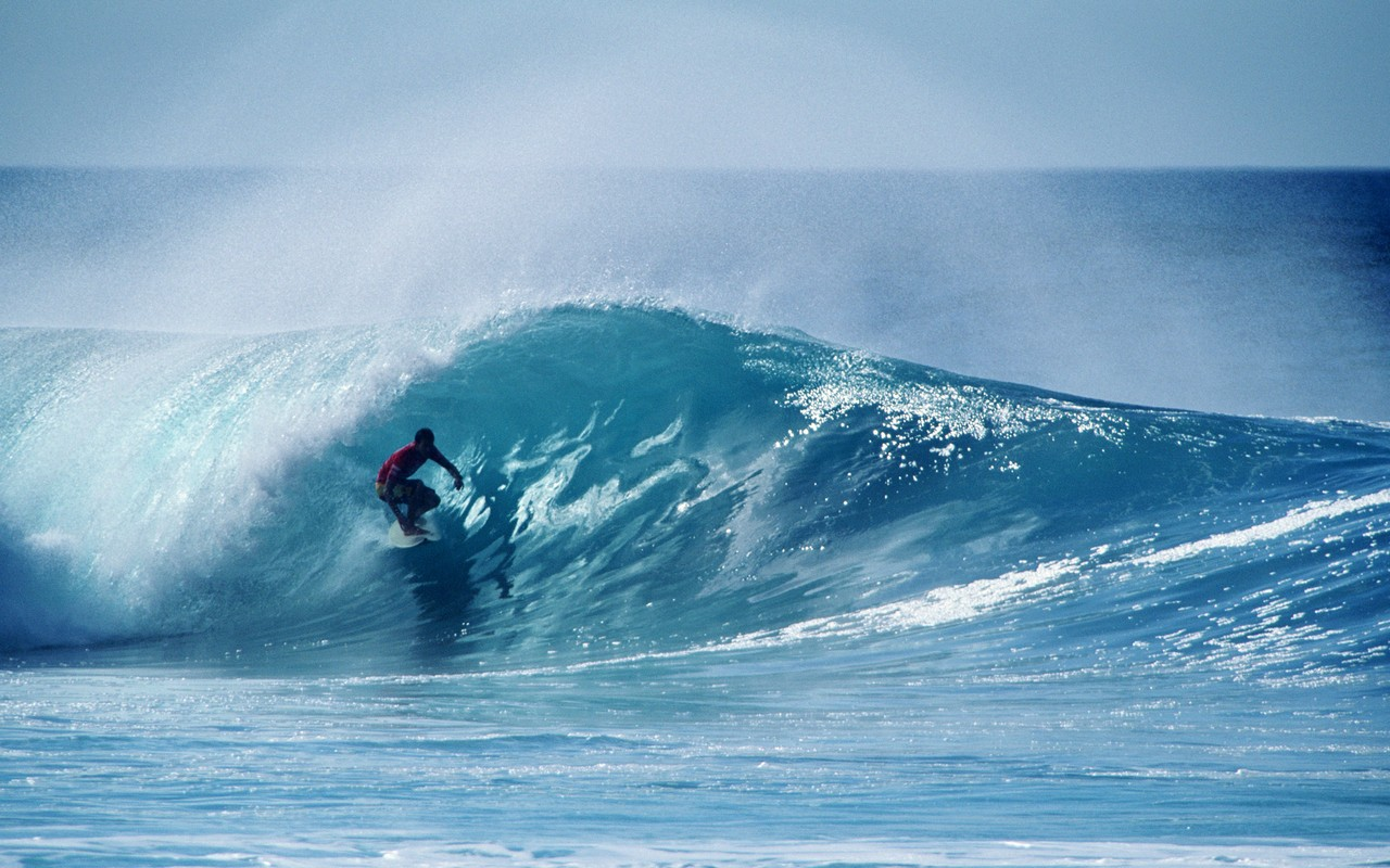 Extreme Surfing Wallpaper: Extreme Surfing Stock Photos