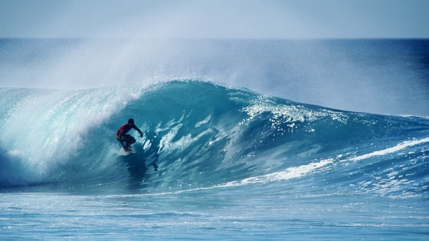 852x480 Extreme surfing