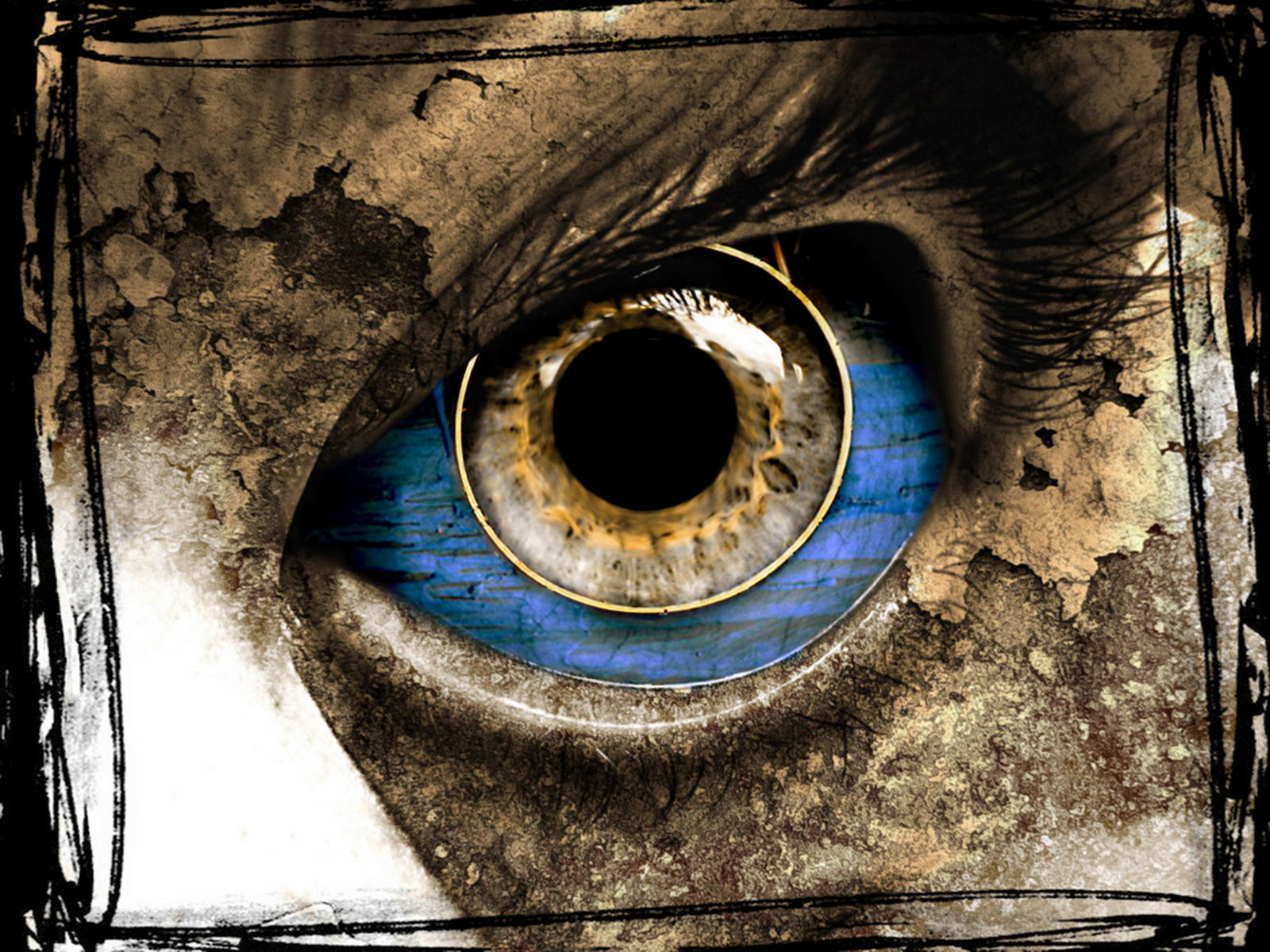 1600x1200 Eye horror desktop wallpapers and stock photos