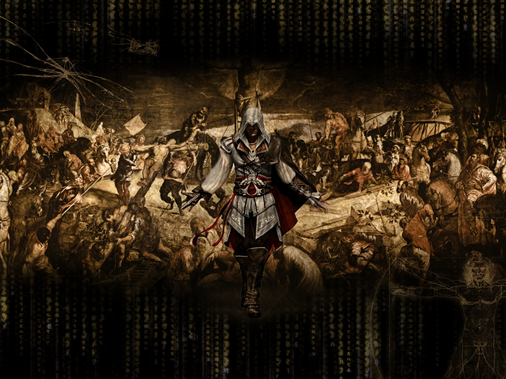 1024x768 Ezio Assassins Creed 2