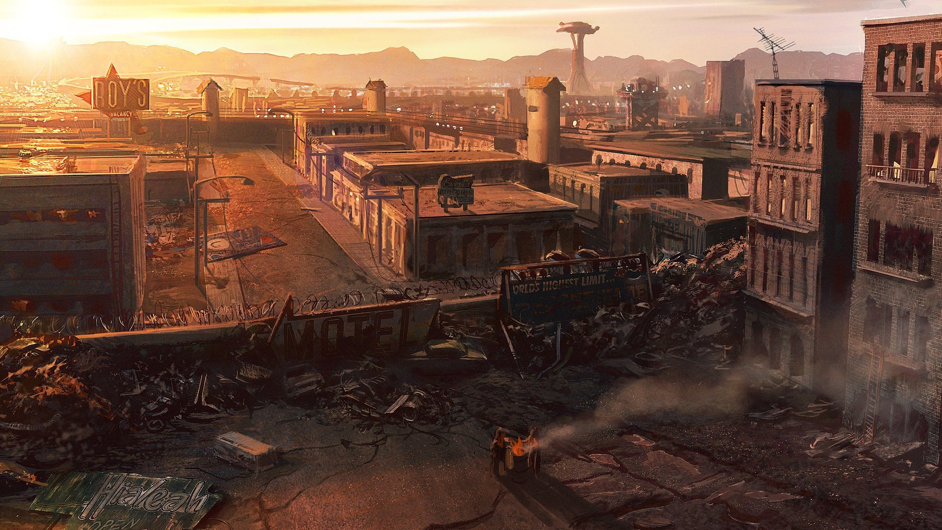 161 Fallout New Vegas Hd Wallpapers Background Images