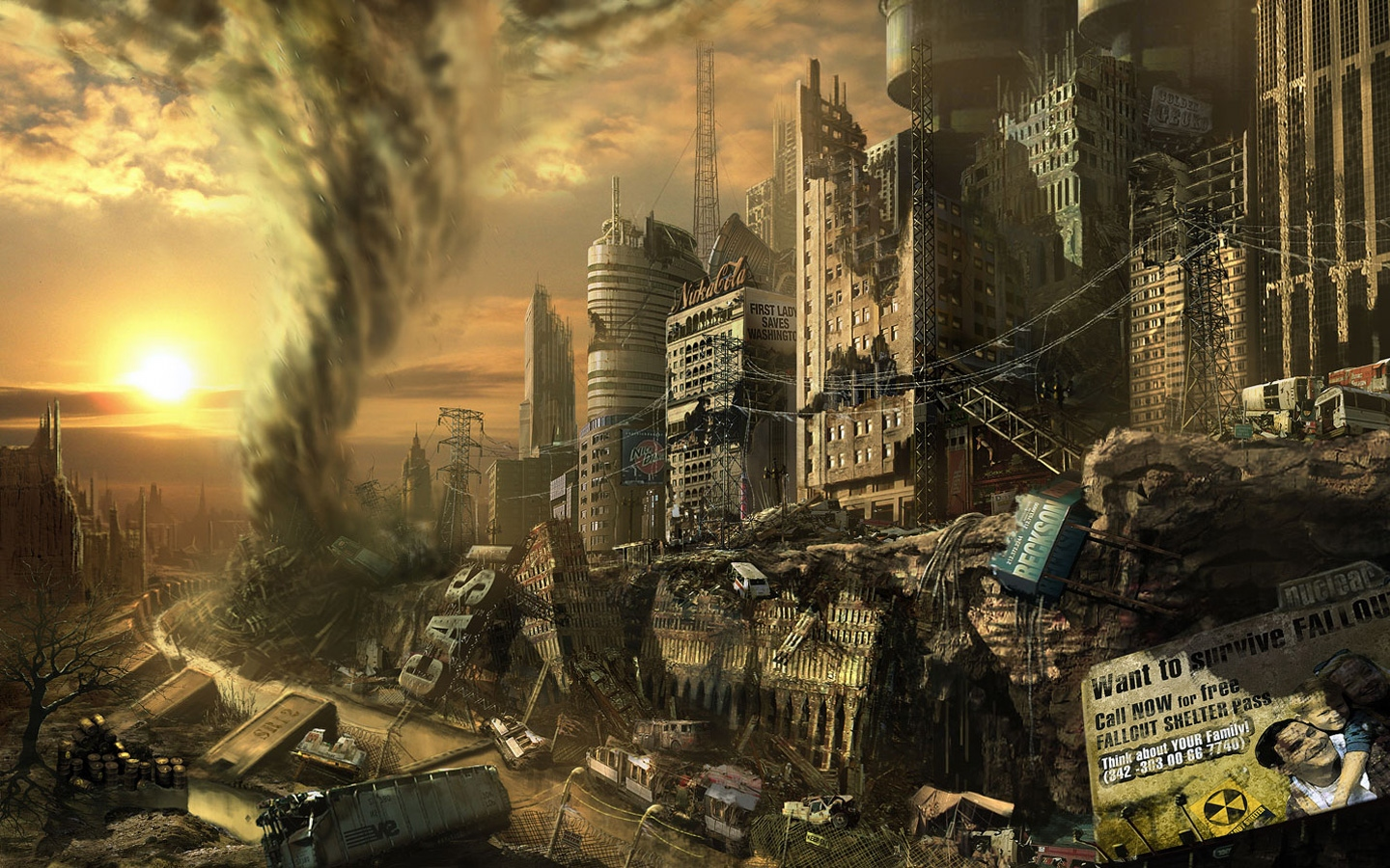 Fallout 3 wallpapers fallout 3 stock photos image fallout 3 wallpapers and stock photos thecheapjerseys Gallery