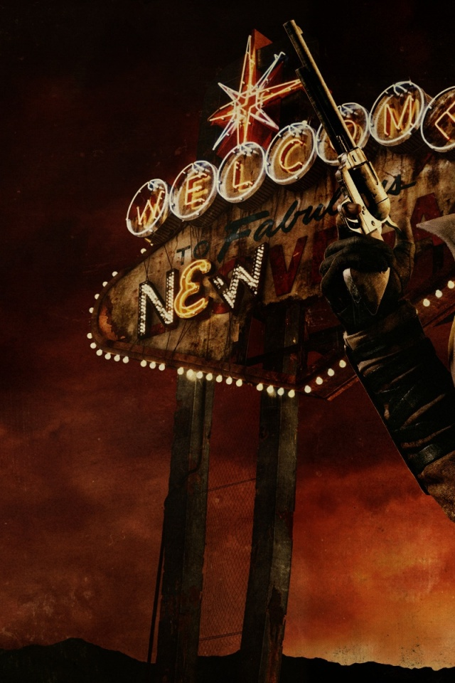 Download Fallout New Vegas Wallpaper Iphone Gallery