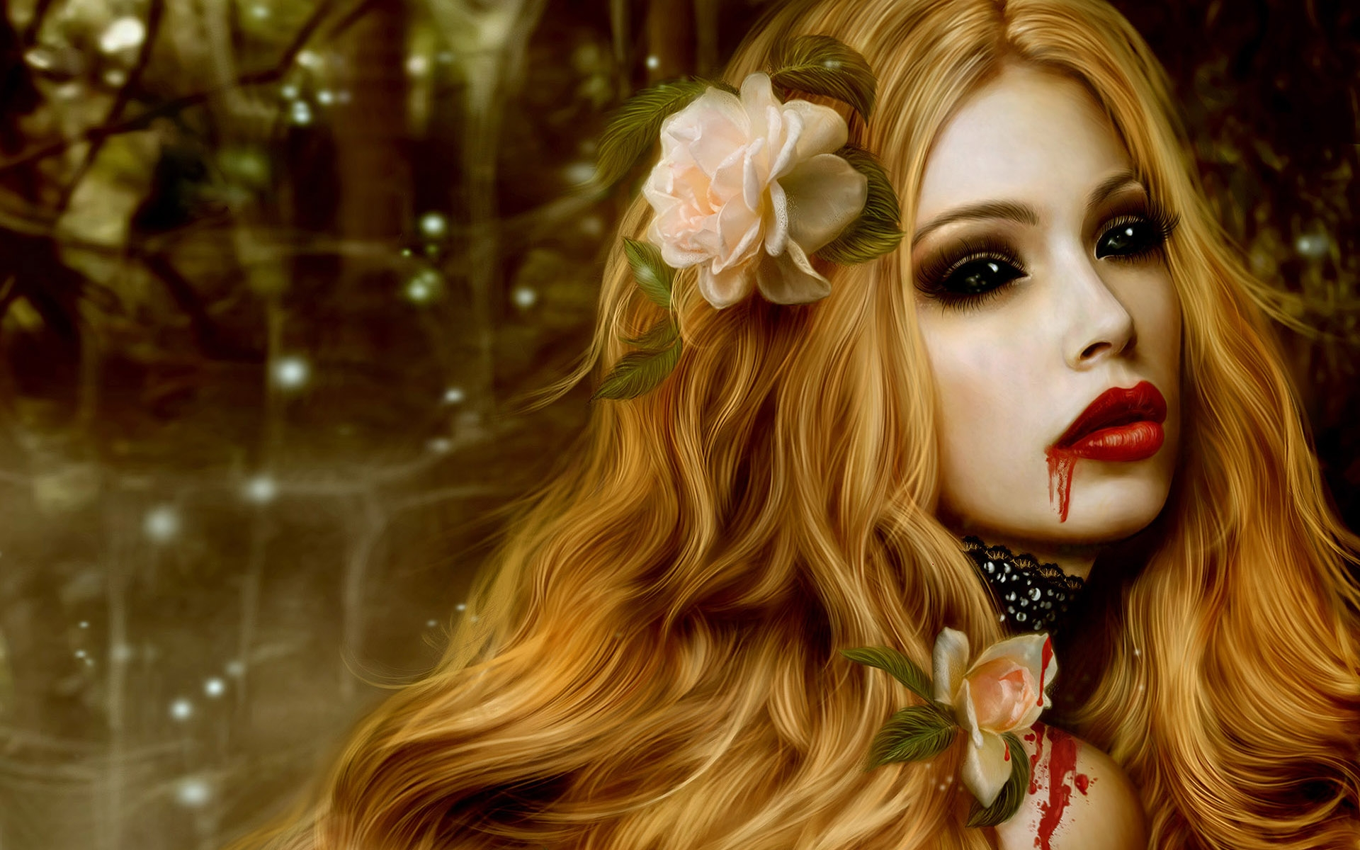 Bloody Mary - Fantasy &amp- Abstract Background Wallpapers on Desktop ...