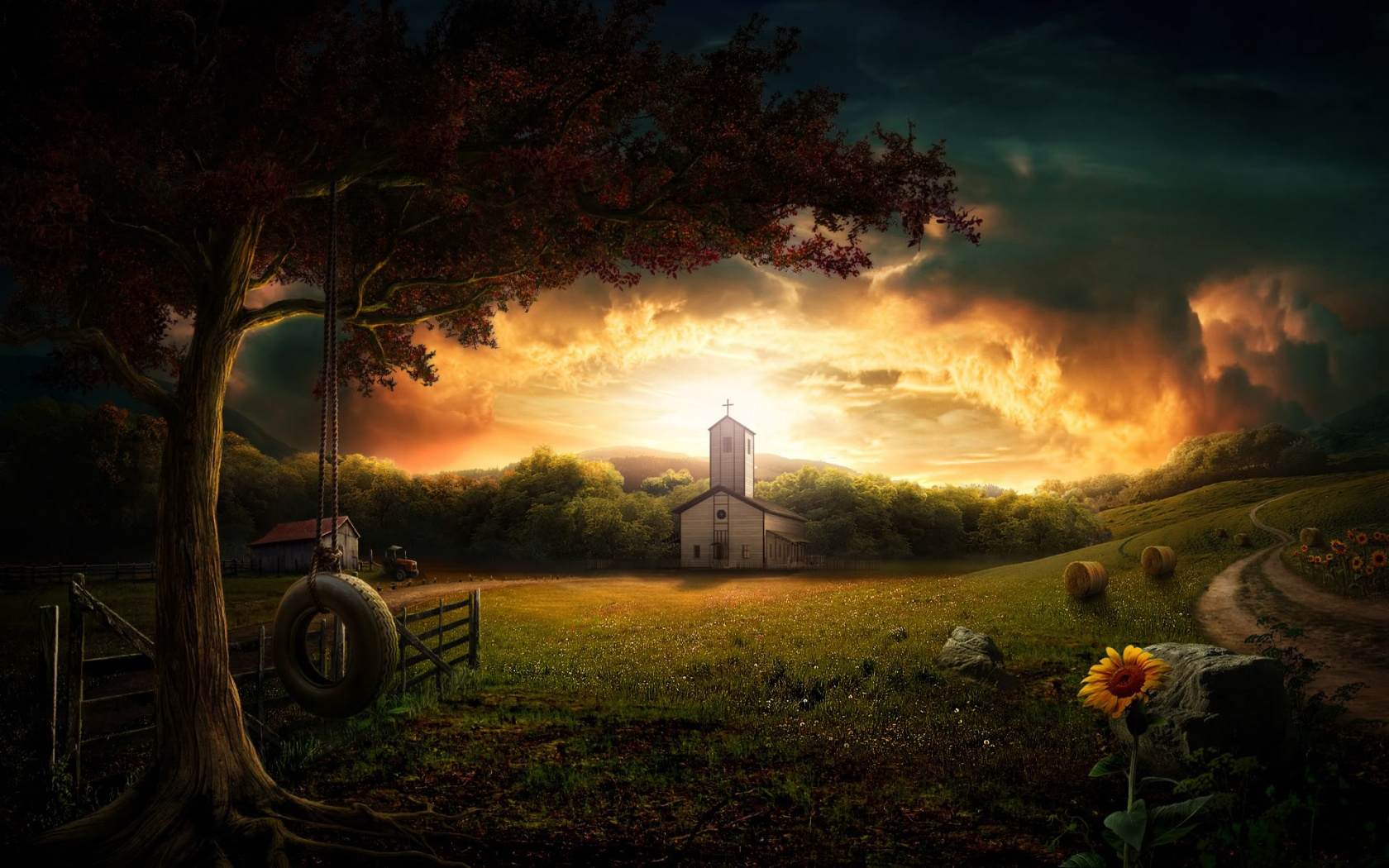 fantasy view wallpapers and stock photos